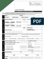 Autoloan Form Application Individual