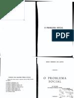 O Problema Social - Mario Ferreira Dos Santos