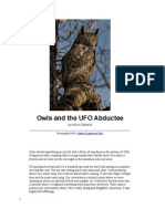 Owls and the UFO Abductee