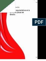 Libro Modelos Argumentativos en La Aplicacion Judicial Del Derecho