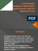 Criminología Lus Rodriguez Manzanera