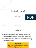 13Nilai p p Value
