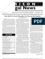 Sexual Abuse by Prison Chaplains [Clergymen]