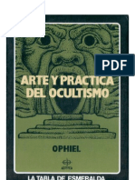 Ophiel -  Arte y Práctica del Ocultismo