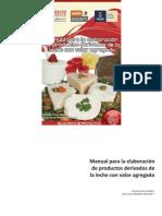 Manual para la elaboración de productos derivados de la leche con valor agregado