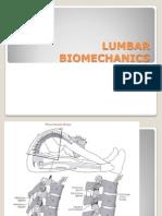 Lumbar Biomechanics