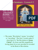 Lesson 2 Revelation Seminars -The Star of the Drama of Revelation