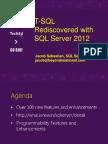 T SQL Rediscovered With SQL Server 2012