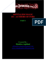 eBook Mentalism Bahasa Indonesia
