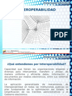 (1) Nueva Ley de Interoperabilidad Impacto Desarrollo Gobierno Electronico Jesus Sosa (CENIT)