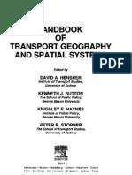 Handbook of Transport Geography