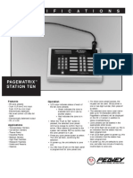 Station Ten - Spec Sheet 65