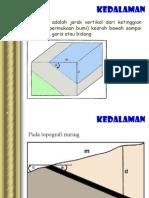 GS P5 Kedalaman & Kekar