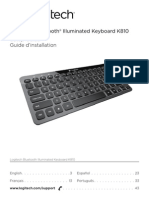 Logitech® Bluetooth® Illuminated Keyboard K810