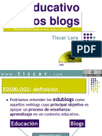 105047061 Uso Educativo de Los Blogs