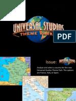 Universal Studios Final