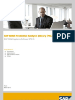 Predictive Analysis Overview 2013