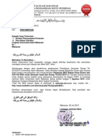 Surat Pengantar Bkd 2012-2013