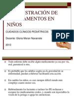 ADMINISTRACIÓN DE MEDICAMENTOS EN NIÑOS
