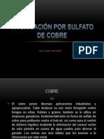 Intoxicación por sulfato de cobre