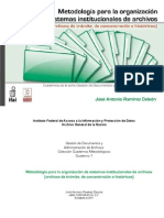 Cuadernos Metodológicos 1 - Administración de Archivos