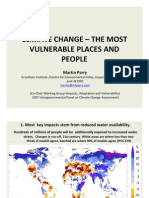Climate Change - The Most Vulnerable Places and People (Martin Parry)