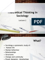Sociology Lecture 2 . Ppt