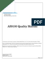 QM001Quality Manual Montana ~ Rev E 8-24-07