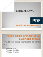 Ethical Laws