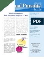 2013 Q1 Newsletter
