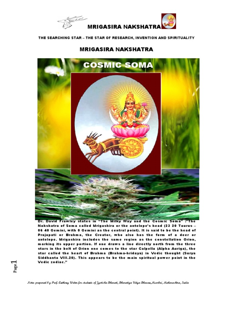 Mrigasira nakshatra the star of research invention and spirituality astrology astronomy