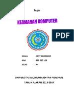 Tugas keamanan komputer 2