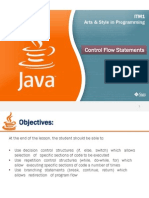 Java-Control Flow Statements
