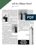 Build Oblique Pencil