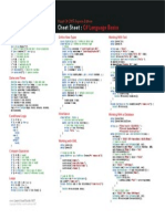c# Cheat Sheet