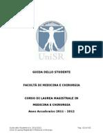 Guida dello studente - Corso di Laurea Magistrale in Medicina e Chirurgia - Università San Raffaele