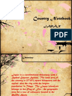Country Notebook on Japan