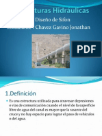 Estructuras Hidráulicas-Sifones