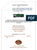 43436527 Project Report on Mutual Fund