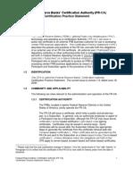 Operating Circular 5 Certification Practice