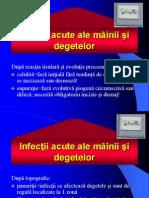 Infectii Mana. Sem