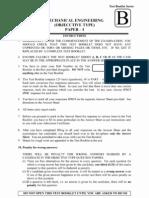 IES Mechanical Engineering Paper I 2012