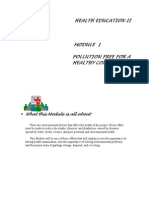 Health Ed II Module 1
