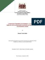 A Internação Psiquiátrica Involuntária e a Lei 10.216.2001.