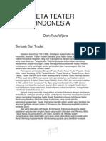 Makalah Workshop Teater Putu Wijaya Seni Pertun Jukan Di Indonesia (Esei)