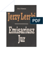 Lerski, Jerzy - Emisariusz Jur – 1989 (zorg)