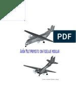 Avion multiproposito con fuselaje modular.pdf
