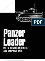 Panzer Leader Rules