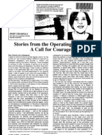 Operating Room - A Call for Courage