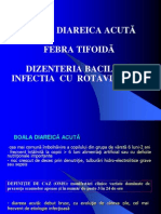 Curs 3. BDA Febra Tifoida Dizenteria Bacilara Rotaviroze 2012 2013
